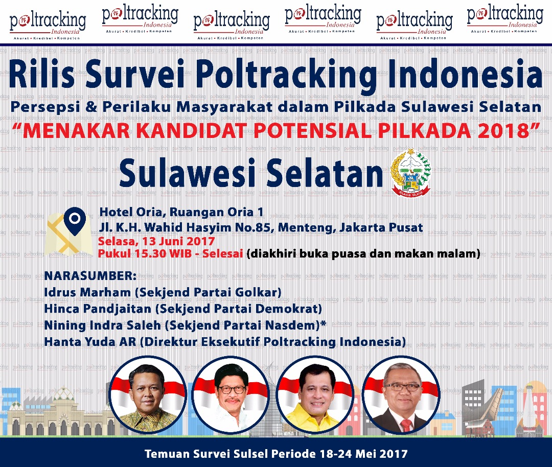 Survei Poltracking Indonesia, Agus Arifin Nu'mang Paling Disuka Publik